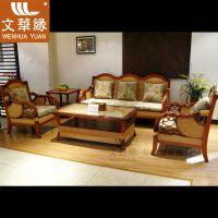 藤沙发真藤艺沙发组合客厅藤椅沙发藤木家具藤编五件套WH1188