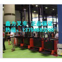 厂家订制双油缸2吨3.6米电动叉车 东莞电动托盘堆高机 超高电动车 东莞二节三米六加高型全电动堆高机