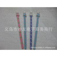 【厂家直销】木制玩具/木制活动笔/卡通铅笔/树脂铅笔/动物铅笔