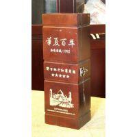 四川成都木盒激光雕刻刻字 成都工艺礼品盒雕刻刻字加工 成都竹简雕刻加工 成都红酒盒激光刻字雕刻打