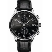 【捷豹】汽车手表 商务纪念手表 黑 运动型多功能计时腕表 LOGO