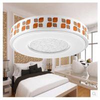 欧普专柜正品LED卧室吸顶灯新中式小客厅大卧室吸顶灯具萧雅26W