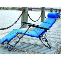 153cm批发折叠午休椅躺椅 沙滩椅 加固加厚两用椅 多功能折叠椅子