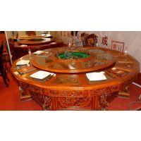 信阳电动餐桌 酒店餐桌 酒店豪包电动餐桌 实木餐桌定做批发