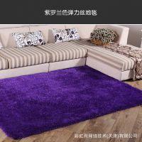 厂家直销韩国弹力丝旗客厅卧室茶几地毯地垫120cm*170cm