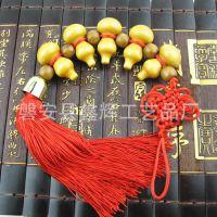 桃木葫芦汽车挂件 饰品 葫芦保平安车挂 创意礼品 可加工定制