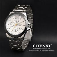 批发康卡斯全钢进口手表 石英镀膜镜面手表 学生潮版潮男手表