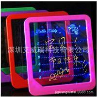 浪漫荧光留言板写字板广告板发光写字板led荧光屏批发厂家直销