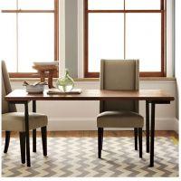 美式餐桌 实木铁艺桌子复古餐桌椅组合防锈承重餐厅桌椅家用餐桌