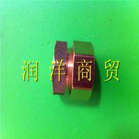 铝塑管铜配件 太阳能管铜接头 水管铜件 内丝直接