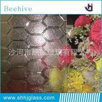 沙河厂家销售3-6mm白色钢化级浮法压花玻璃 各种花型