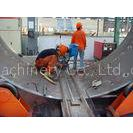 Single Section Sand Blasting Machine For Wind Tower Production 80 Tons