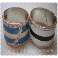 加工锌合金流行时尚手镯 折叠弹簧手镯 价格优惠