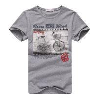 供应2014夏装韩版男短袖T恤修身纯棉圆领T恤男短袖潮打底衫21303013