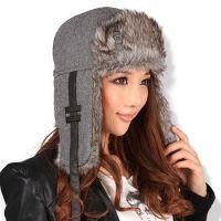 青岛2015新款生产定做供应广告休闲帽 雷锋帽 翻边帽 韩版嘻哈帽