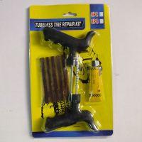 电动车 摩托车 汽车 真空胎补胎工具 通用型便携补胎套装 带胶水