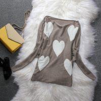 供应白菜价初开春装品牌毛衣新款针织衫女套头韩版潮薄宽松蝙蝠羊毛衫