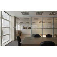扬州国贸大厦|九洲大厦办公室钢化玻璃隔断订做安装13773525800【庆亚】