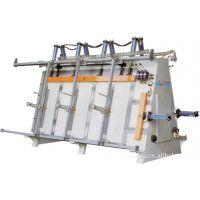 供应液压带气缸压料的双工位门窗框架组合机 亨力特品牌