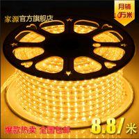 LED灯条LED灯带5050贴片60灯高压220V装饰灯LED灯LED彩灯厂家直销