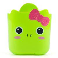 特价新品 厂家批发 塑料迷你收纳桶 可爱卡通吸盘式可挂收纳桶