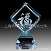 上海添润水晶奖杯加工批发 定做水晶奖杯 欢迎来图来样定制、加工