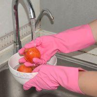 """北京瑞京""""北瑞""""牌天然橡胶光里家用手套(厂家直销,适用于家务清洁、洗衣洗碗、劳保等)"""