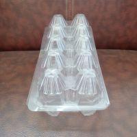 厂家直供超市礼品鸡蛋包装一次性10枚装透明pvc鸡蛋托盒