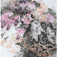 Crape Myrtle-Traditional Chinese Floral Painting