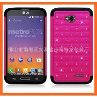 厂家直销!LGL70新型号 热卖手机壳 满天星机器人手机套防摔滑