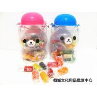 创意 24色加菲熊橡皮泥 大桶橡皮泥 3D彩泥 可当存钱罐 儿童玩具
