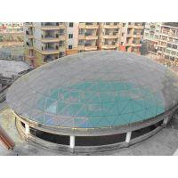供应采光大厅采光天井网架镀膜玻璃工程设计施工