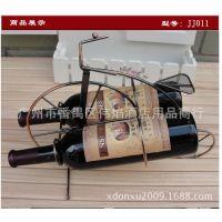 厂家直销批发红酒架 创意铁艺酒架 欧式古铜色酒架款式新颖
