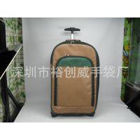 深圳厂家直销 高裆  PU商务拉杆箱 拖轮行李箱包