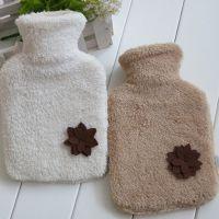 厂家直销/1000ML双料铜口毛绒卡通热水袋/暖水袋/小花冲水热水袋