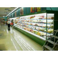 供应超市便利店水果风幕展示柜,水果冷藏保鲜柜,饮料冷藏柜