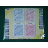北京工厂仰价生产PVC广告透明水晶桌垫.办公写字垫.医院办公桌垫