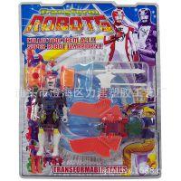 热销动漫儿童玩具 兽拳战队 新兽王机器人 多款变形动物 混批