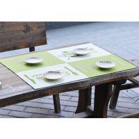 现代欧式毛毡布 餐垫桌垫 餐桌垫 隔热垫 4片装 特价销售