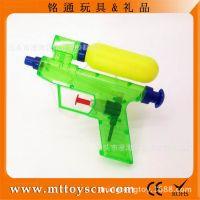 【厂家直销】夏天玩具 透明水泵式小水枪 迷你小水枪 可做赠品