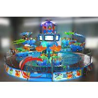 供应创艺游乐自主产品鹰击长空游乐设备蓝色的星球升级版