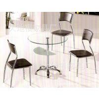 【【厂家直销】】豪华玻璃圆桌/圆台