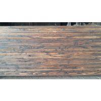 供应碳化木批发—赤松表面碳化木——沪景木业定制加工