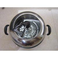 不锈钢蒸煮锅   不锈钢火锅   不锈钢锅   蒸煮一体锅  不锈钢锅