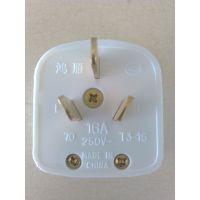 鸿雁 插头 T3-16 三极扁插头 三极插头 空调插头 三插16A 正品