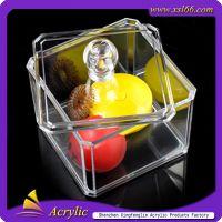 深圳厂家定做透明有机玻璃盒 亚克力颜色盒 PMMA盒 半透明盒子
