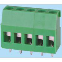 供应5.08螺钉式PCB接线端子,环保产品!