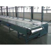 供应链板输送机材质|永辉输送(图)|排屑链板输送机
