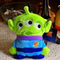 迪士尼正版玩具总动员反斗奇兵三眼怪Alien外星人毛绒卡包