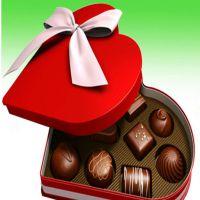 亿形包装厂家定做高端精美心形巧克包装盒 做工精致 品质包证